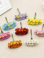 Hi-Q 1Pc Decorative Flower Hand Bouquet Chrysanthemum Wedding Home Table Decoration Artificial Flowers