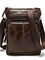 Men Cowhide Casual / Outdoor Shoulder Bag