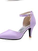 Women's Shoes PU / Leatherette Summer / Fall / Winter Heels Boots Wedding / Casual Kitten Heel Others Blue