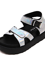 Women's Sandals Summer Sandals / Open Toe PU Casual Platform Others Black / Silver Others