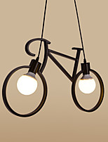 E26/E27 Pendant Light ,  Traditional/Classic / Retro / Country Metal Bedroom / Dining Room / Kitchen / Kids