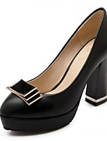 Women's Heels Spring / Fall Heels / Platform / Round Toe Synthetic  / LeatheretteWedding / Office & Career /