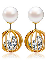 Alloy Drop Earrings Fashionable Earrings Wedding/Party 1 pair