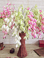 1 1 Ramo Poliéster / Plástico Outras Flor de Mesa Flores artificiais 43.30inch/65cm