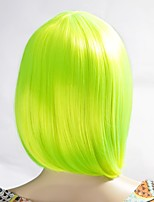 Neitsi Women's Fashion Yellow Cosplay Short Synthetic Hair Wigs 160g/pc