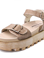 Women's Sandals Summer Sandals / Open Toe PU Casual Platform Others Almond Others