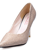 Women's Heels Spring / Comfort Synthetic Casual Stiletto Heel Others Black / Pink / Purple / Silver / Gold Others