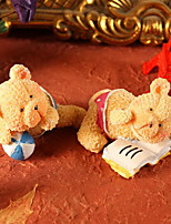 Resin Handicraft Furnishing Articles Couples Teddy Bear