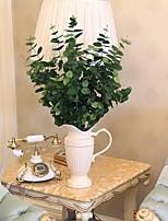 1 Une succursale Soie Plantes Fleur de Table Fleurs artificielles Total Length:33.9