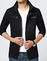 Men's jacket in spring and autumn new thin young men slim collar men's casual jacket men fall.