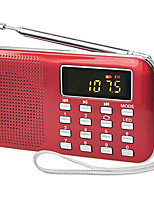 Y-896 Mini Radio Portable Ultra-Thin Speakers FM/AM Radio Car Audio Bass Sound