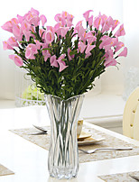 Hi-Q 1Pc Decorative Flowers Real Calla Lily For Wedding Home Table Decoration Artificial Flowers