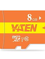 yisen 8GB UHS-I U1 / klasse 10 microSD / microSDHC / microSDXC / tfmax lezen speed80 (mb / s)