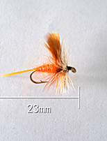 1pcs Hard Bait Orange 5 g/1/6 oz. Ounce,23 mm/1