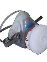 Yue Feng tierra cabeza mounted7100 de silicona llena máscara antivirus mitad