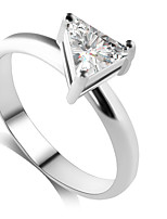Alloy / Zircon Ring Band Rings Wedding / Party / Daily / Casual 1pc