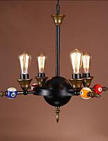 40W Lámparas Colgantes ,  Tradicional/Clásico Galvanizado Característica for Mini Estilo MetalSala de estar / Dormitorio / Comedor /