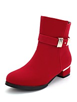 Women's Shoes  Platform / Fashion Boots Boots Outdoor / Office & Career / Casual Chunky Heel Others  &C-6