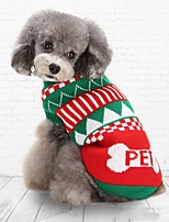 2016 New Autumn and Winter Christmas Sweety Christmas Tree Bone Blue Green Dog Sweater Dog Clothes for Pet Dogs