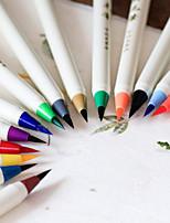 Живопись Ручки Water Color,Пластик Красный / Черный / Синий