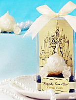 Bridesmaids / Bachelorette - Recipient Gifts - Cinderella Carriage Tealight Wedding décor, Candle Holder Bridal Favors