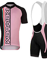 KEIYUEM®Summer Cycling Jersey Short Sleeves + BIB Shorts Ropa Ciclismo Cycling Clothing Suits #K136
