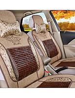 bambu verão fresco almofada mat tampa de assento do carro papiros suprimentos auto roupa de almofada