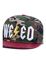Fashion  Men Women Hip Hop Letter Embroidery Camouflage Street Dance Cool Baseball Caps