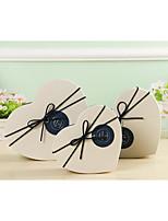 délicate et belle de trois pièces boîte de boîte de cadeau d'amour du jour de valentine de bonbons cadeau ensemble de cadeau en forme de