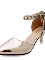 Women's Heels Fall Heels Patent Leather Party & Evening Stiletto Heel Sparkling Glitter Pink / Gray / Gold Others