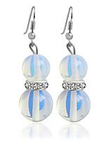 Alloy Drop Earrings Blue Wedding Party 1 pair