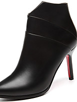 Women's Boots Spring / Fall / Winter Heels Synthetic Office & Career / Party & Evening Stiletto Heel Black Snow Boots