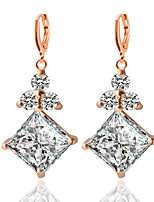 Alloy/Zircon Earring  Drop Earrings Wedding/Party/Daily / Casual 1 pair
