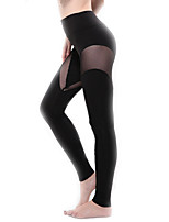 Women Solid Color Legging,Bamboo Carbon Fiber