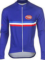 Sports Bike/Cycling Tops Men's Long Sleeve Breathable / Windproof / Soft / Thermal / TeryleneClassic / Fashion /