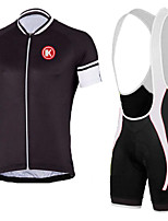 KEIYUEM®Summer Cycling Jersey Short Sleeves + BIB Shorts Ropa Ciclismo Cycling Clothing Suits #K144