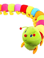Colorful Caterpillar Plush Toy Doll Bed Children's Birthday