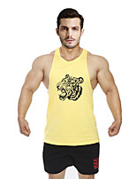 Running Tops / Vest / Shirt / Sweatshirt / Tank Men's SleevelessBreathable / Sweat-wicking / Softness / Held-In