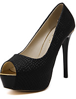 Women's Heels Spring / Summer / Fall / Winter Heels / Peep Toe Party & Evening / Dress / Casual Stiletto Heel
