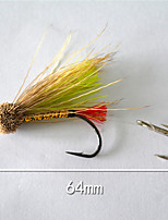 1 pcs Hard Bait yellow shad 5 g/1/6 oz. Ounce,64 mm/2-1/2