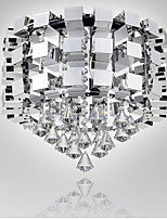 Stainless Steel light Dining-room lamp Sitting Room Bedroom light Crystal ligh