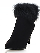 Women's Boots Fall / Winter Heels / Platform / Riding Boots / Fashion Boots / Bootie / Comfort / Round Toe / FlatsPatent