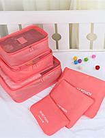 Travel Waterproof Storage Bag Suit Luggage Storage Box Clothing Underwear Finishing Bag Six 6 Sets