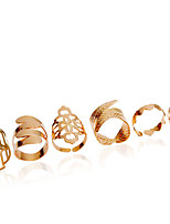 Alloy Ring Midi Rings Wedding / Party 1set
