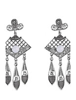 Earring Geometric Jewelry Women Bohemia Style / Birthstones Wedding / Party / Daily / Casual Alloy 1 pair Silver