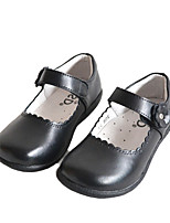 Girl's Flats Spring / Summer / Fall / Winter Comfort Leather Athletic / Casual Flat Heel Others Black Others
