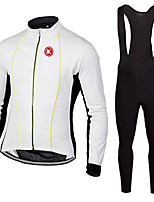 KEIYUEM®Spring/Summer/Autumn Long Sleeve Cycling Jersey+long Bib Tights Ropa Ciclismo Cycling Clothing Suits #L68