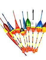 Anmuka 10pcs Lots Fishing Lure Floats Bobbers Slip Drift Tube Indicator Assorted Sizes w51007