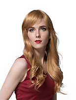 Attractive Long Loose Wave Human Hair Wigs  For Women