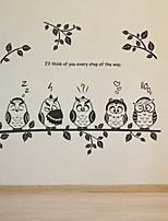 Desenho Animado Wall Stickers Autocolantes de Aviões para Parede Autocolantes de Parede Decorativos,PVC Material RemovívelDecoração para